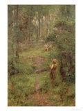 What the Little Girl Saw in the Bush, 1904 Giclee Print by Frederick McCubbin