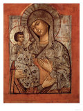 Icon of the Blessed Virgin with Three Hands Giclee Print