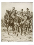 On Britain's Roll of Honour: The Return from the Charge Giclee Print by Richard Caton Woodville