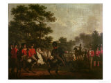 Duke of Wellington Visiting Outposts, c.1810-15 Giclee Print by Hippolyte Lecomte