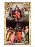 The Assumption of Mary Lmina gicle por Andrea del Sarto