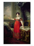 Queen Dona Maria Isabel de Braganza, 1829 Giclee Print by Vicente Lopez y Portana