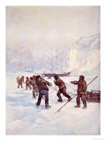 The Ships Were Called Terror and Erebus, Our Island Story Marshall, c.1905 Giclee Print by A.s. Forrest