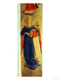 Angel Beating a Drum from the Linaiuoli Triptych, 1433 Giclee Print by  Fra Angelico