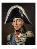 Portrait of Charles X Giclee Print by Horace Vernet