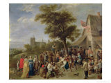 Peasants Merry-Making, c.1650 Giclee Print by David Teniers the Younger