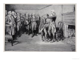 Washington Taking Leave of His Officers, December 4th 1783 Giclee Print by Howard Pyle
