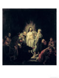 The Incredulity of St. Thomas Giclee Print by  Rembrandt van Rijn