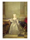 Infanta Maria Anna Victoria de Bourbon, 1724 Giclee Print by Nicolas de Largilliere