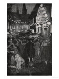 Celebration on the Night of the Inaugeration Giclee Print by Howard Pyle