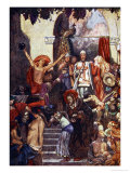 At the Town There Was a Vanity Fair Kept, The Pilgrims Progress Macgregor, Pub.Jack, 1907 Giclee Print by John Byam Shaw