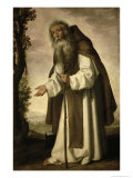 St. Anthony Dispirited, 1640 Giclee Print by Francisco de Zurbarán