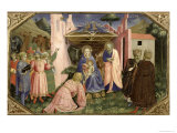 Adoration of the Magi, from the Predella of the Annunciation Altarpiece, c.1430-32 Giclee Print by  Fra Angelico