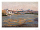 The Banks of the River Manzanares, 1912 Giclee Print by Aureliano De Beruete