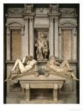 Tomb of Giuliano De' Medici, 1520-34 Giclee Print by  Michelangelo Buonarroti