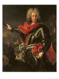 General Count Johann Matthias Von Der Schulenburg Giclee Print by Giovanni Antonio Guardi