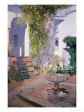 Garden Grotto, Alcazar de Seville, 1910 Giclee Print by Joaquín Sorolla y Bastida
