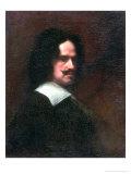 Self Portrait, 1640 Gicléedruk van Diego Rodriguez de Silva y Velasquez