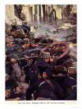 How the Brave Belgians Held Up the German Advance, Told in the Huts: The YMCA Gift Book, c.1916 Giclee Print by Cyrus Cuneo