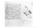 Codex Arundel 263, 1490-1518 Giclee Print by  Leonardo da Vinci
