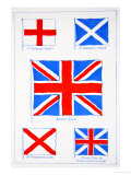 Union of the Flags, Our Island Story Marshall, Pub.Jack Ltd, London, 1905 Giclee Print by A.s. Forrest