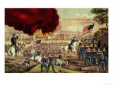 The Capture of Atlanta by the Union Army, 2nd September, 1864 Giclee Print by Currier & Ives