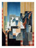 Still Life with Violin and Guitar, 1913 Giclee Print by Juan Gris