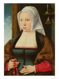Portrait of an Unknown Lady, 1527 Giclee Print by Joos Van Cleve