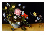 Still Life of Flowers Giclee Print by Jan Brueghel the Younger