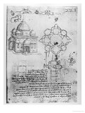 Design For a Church Giclee Print by Leonardo da Vinci 