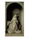 The Virgin of the Annunciation, from the Portinari Triptych, c.1479 Giclee Print by Hugo van der Goes