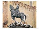 Equestrian Monument of Bartolommeo Colleoni Giclee Print by Andrea del Verrocchio