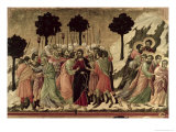 Maesta: Betrayal of Christ, 1308-11 Giclee Print by  Duccio di Buoninsegna