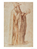 Study of a Man Giclee Print by  Michelangelo Buonarroti