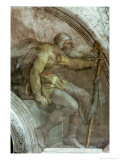 Sistine Chapel Ceiling, One of the Ancestors of God Giclee Print by  Michelangelo Buonarroti