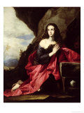 St. Mary Magdalene or St. Thais in the Desert, c.1640-41 Giclee Print by Jusepe de Ribera