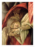 Lamentation over the Dead Christ, Detail of Mary Magdalene, 1490-1500 Giclee Print by Sandro Botticelli