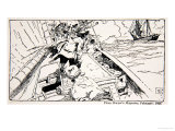 New York Colonial Privateers, from Harper's Magazine Giclee Print by Howard Pyle