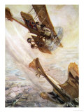 Illustration from Told in the Huts: The YMCA Gift Book, Published 1916 Giclee Print by Cyrus Cuneo