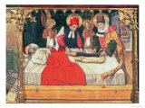 Ss Cosmas and Damian Graft the Leg of a Black Person Onto the Stump of Deacon Justinian Giclee Print by Jaume Huguet