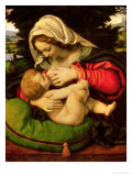 The Virgin of the Green Cushion, 1507-10 Giclee Print by Andrea Solario