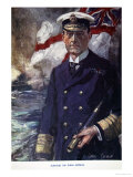 Admiral Sir John Jellicoe, Illustration from Told in the Huts: The YMCA Gift Book, Published 1916 Giclee Print by Cyrus Cuneo