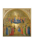 The Coronation of the Virgin, c.1440 Gicl&#233;e-Druck von Fra Angelico 