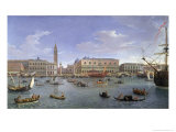 View of Venice from the Island of San Giorgio, 1697 Giclee Print by  Vanvitelli (Gaspar van Wittel)