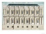 Banqueting House, Whitehall, London, c.1700 Giclee Print by Robert Morden