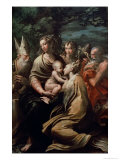 Madonna and Child with Saints, c.1529 Giclee Print by  Parmigianino