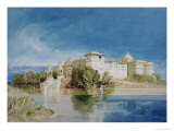 Perawa Palace, Malwa, Central India Giclee Print by John Sell Cotman