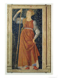 Queen Tomyris, from the Villa Carducci Series of Famous Men and Women, c.1450 Giclee Print by  Andrea del Castagno
