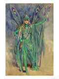 "Oberon, Costume ""A Midsummer Night's Dream"", Produced Courtneidge, Princes Theatre, Manchester Giclee Print by C. Wilhelm"