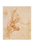 Study of a Female Nude Giclee Print by  Michelangelo Buonarroti